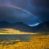 Rainbow over the Black Cuillins